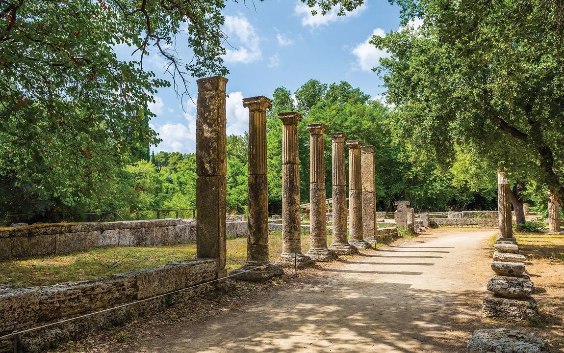 Image result for αρχαια ολυμπια αξιοθεατα